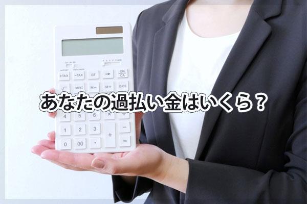 あなたの日本プラムの過払い金はいくら?